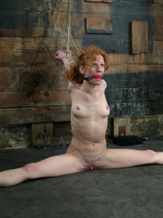 Bdsm sex. Sye Rena's hard toned, flexible - Unique Bondage - Pic 7