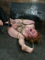 Bdsm sex. Sye Rena's hard toned, flexible - Unique Bondage - Pic 12
