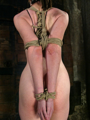 Bdsm xxx. Haley Scott likes to get tied up - Unique Bondage - Pic 4