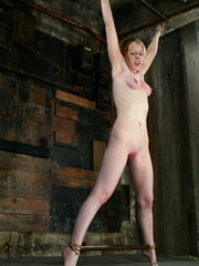 Bdsm xxx. Haley Scott likes to get tied up - Unique Bondage - Pic 9