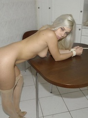 Xxx bdsm. Cute girls tied at home for the - Unique Bondage - Pic 11