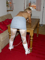 Bondage xxx. Girls in stockings and - Unique Bondage - Pic 2
