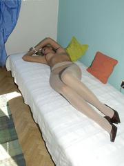 Bondage xxx. Girls in stockings and - Unique Bondage - Pic 13