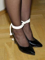 Bdsm girls. Jane tied standing. - Unique Bondage - Pic 16