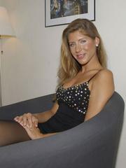 Nylon stockings. Jennifer in ripped open - Unique Bondage - Pic 4