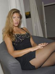 Nylon stockings. Jennifer in ripped open - Unique Bondage - Pic 5