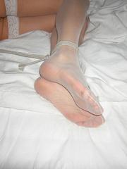 Nylon porn. Linda tied at home - 950 private - Unique Bondage - Pic 24