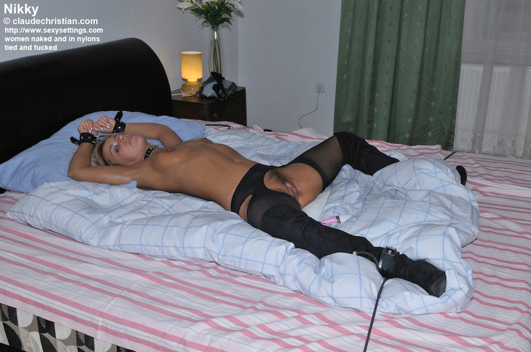 Stocking porn. Sexysettings. - Unique Bondage - Pic 16