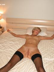 Sexy legs. Adriana tied spread. - Unique Bondage - Pic 3