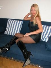 Sexy legs. Adriana tied spread. - Unique Bondage - Pic 5