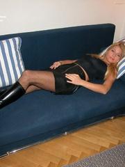 Sexy legs. Adriana tied spread. - Unique Bondage - Pic 7