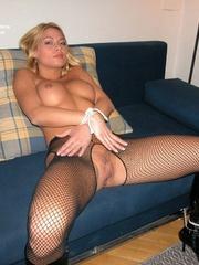 Sexy legs. Adriana tied spread. - Unique Bondage - Pic 16