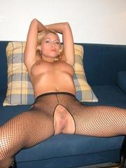 Sexy legs. Adriana tied spread. - Unique Bondage - Pic 19