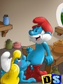 Xxx drawn porn pics of horny Smurfs - Picture 2
