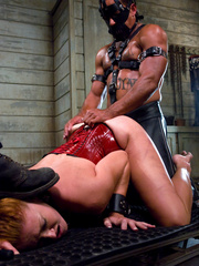Bondage sex. Slave Slut Sabrina Fox Trained - Unique Bondage - Pic 11
