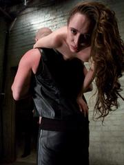 Bondage. Slave girl trained to service cock. - Unique Bondage - Pic 3