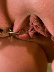 Bdsm porn. Gorgeous Slave girl Trained in - Unique Bondage - Pic 3