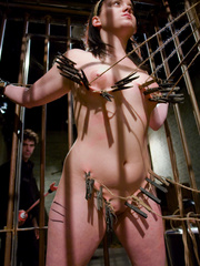 Bdsm porn. Gorgeous Slave girl Trained in - Unique Bondage - Pic 5