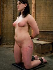 Bdsm porn. Gorgeous Slave girl Trained in - Unique Bondage - Pic 13