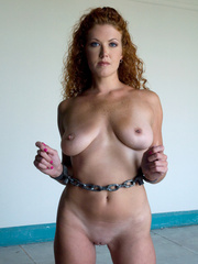 Bondage. Hot Redheaded slave girl trained to - Unique Bondage - Pic 4