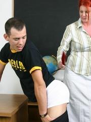 Femdom slave. Woman strapon fucks her man's - Unique Bondage - Pic 5