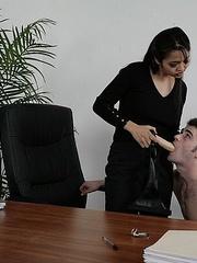 Femdom sex. GuysGetFucked. - Unique Bondage - Pic 11