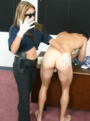 Femdom slave. Guy fucked in the ass by his - Unique Bondage - Pic 15
