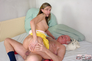 Xxx hardcore. Grandpa fucking the food d - Picture 11