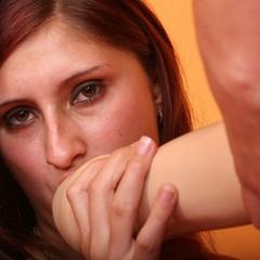Straponsex. Lesbians share strap on dildo. - Unique Bondage - Pic 4