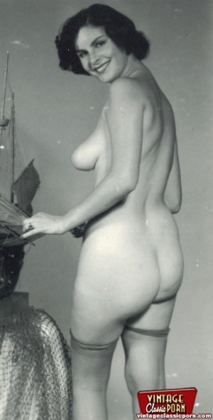 vintage nude several sexy ladies from the sixties with