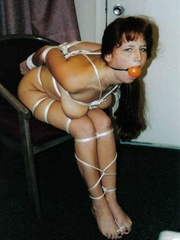 Slave porn. Tied up bitches in heat. - Unique Bondage - Pic 1