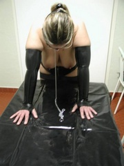 Slave porn. Tied up bitches in heat. - Unique Bondage - Pic 11