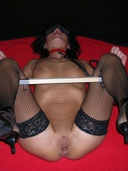 Bdsm sex. Gagged and hooded 4ever. - Unique Bondage - Pic 4