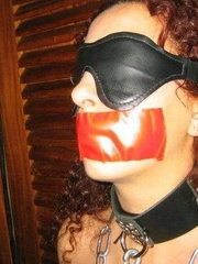 Bdsm sex. Gagged and hooded 4ever. - Unique Bondage - Pic 9