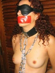 Bdsm sex. Gagged and hooded 4ever. - Unique Bondage - Pic 10