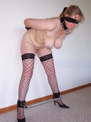 Bdsm sex. Gagged and hooded 4ever. - Unique Bondage - Pic 11