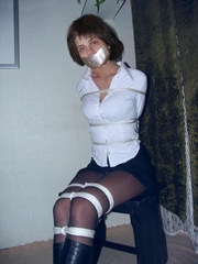 Xxx bondage. Young hotties bound. - Unique Bondage - Pic 7