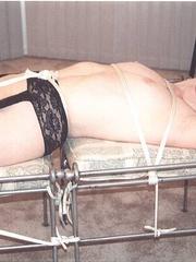 Bondage sex. Titties taped and tied. - Unique Bondage - Pic 6