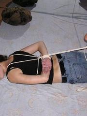 Bondage sex. Hot girls in bondage. - Unique Bondage - Pic 2