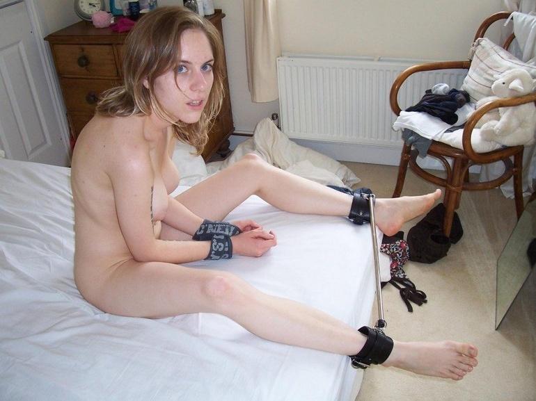 Slave porn. Amateur Tied 7 - Unique Bondage - Pic 8