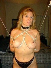 Bdsm xxx. Housewife made to pay for her - Unique Bondage - Pic 6