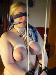 Bondage galleries. Shes at your mercy. - Unique Bondage - Pic 9