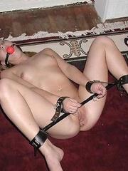 Slave porn. Titties tied till they are - Unique Bondage - Pic 6