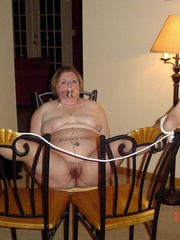 Bdsm xxx. Buxom and gagged. - Unique Bondage - Pic 3