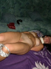 Slave girls. Hogtied and collared. - Unique Bondage - Pic 6