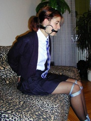Bdsm sex. Schoolgirl bondage. - Unique Bondage - Pic 4
