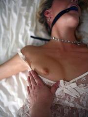 Bondage girls. Beautifully bound wife. - Unique Bondage - Pic 1