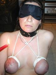 Bdsm porn. Mature bondage slut. - Unique Bondage - Pic 1