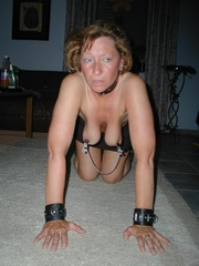 Bdsm porn. Mature bondage slut. - Unique Bondage - Pic 4