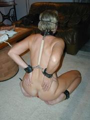 Bdsm porn. Mature bondage slut. - Unique Bondage - Pic 9